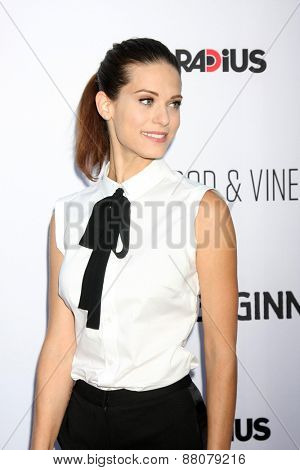 LOS ANGELES - FEB 15:  Lyndsy Fonseca at the