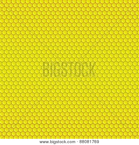 Abstract geometric pattern with honeycombs