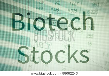 Biotech stocks