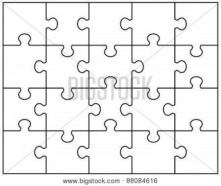 white puzzle 2