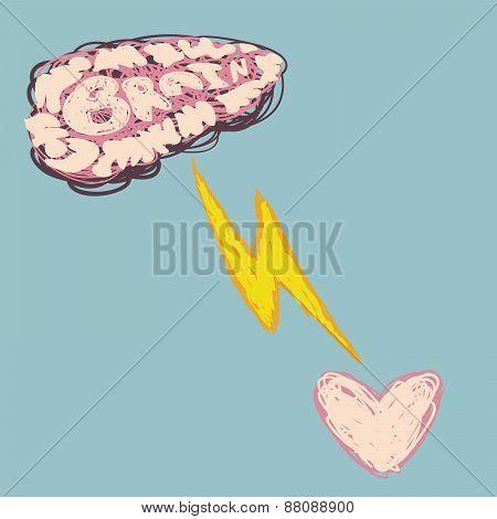 Brain Spark Heart.