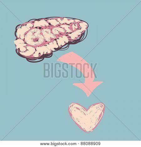 Brain To Heart.