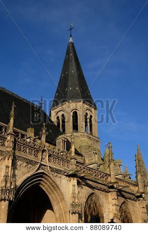 France, Gothic Collegiate Church Of Poissy