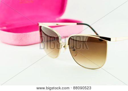 Black Glasses Isolated