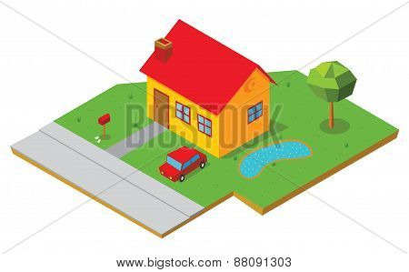 Isometric House 1