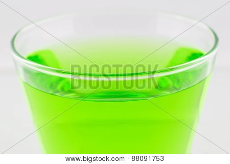 A Glass Of Water Isolated
