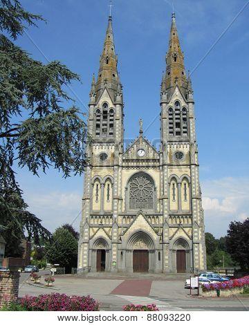 Notre-Dame de Vimoutiers, France