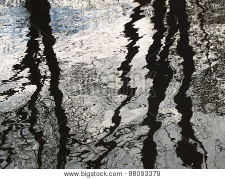water abstract art