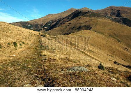 Mountain Landscape In Rodnei Mountains, Romania