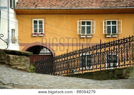 Old Town Of Sighisoara City, Romania