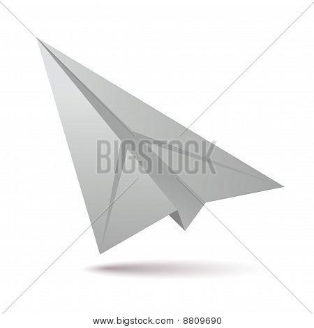 White Paper Plane