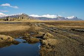 stock photo of iceland farm  - An abandoned farm - JPG