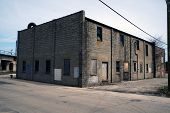 picture of illinois  - An Abandoned Building in Joliet - JPG