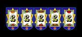 image of slot-machine  - Pound symbol slot machine - JPG