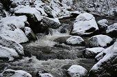 pic of bohemia  - rapidly flowing water - JPG