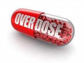 image of overdose  - Pill Overdose - JPG
