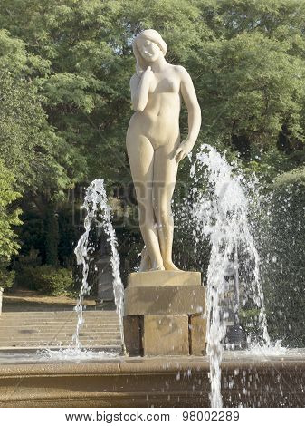Statue Of Naked Woman