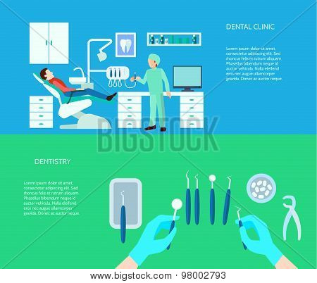 Dental Clinic Banner Set