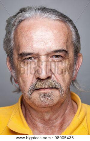 Portriat Of An Elderly Man