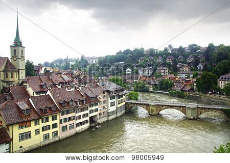 The medieval town centre of Berne.