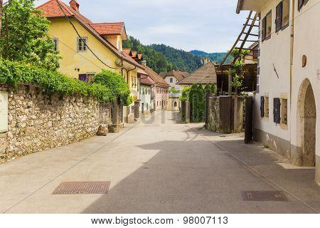 Rural street.