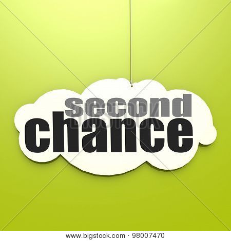 White Cloud With Second Chance