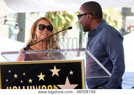 , LOS ANGELES - AUG 5:  Mariah Carey, Lee Daniels at the Mariah Carey Hollywood Walk of Fame Ceremony at the W Hollywood on August 5, 2015 in Los Angeles, CA