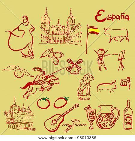 Spain symbols