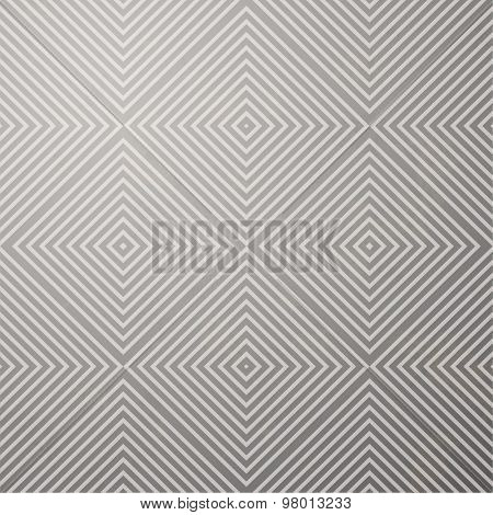 Geometrical Pattern in light retro style