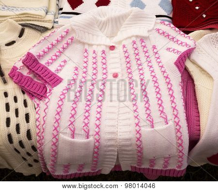 Handmade Baby Waistcoat