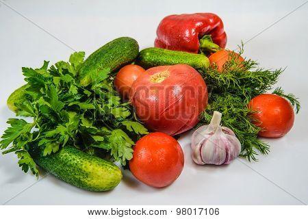 Ripe Vegetables New Crop