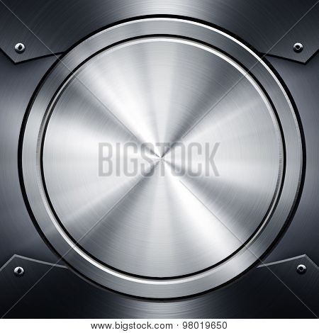 round metal template