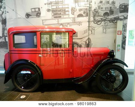 Old Red Car.
