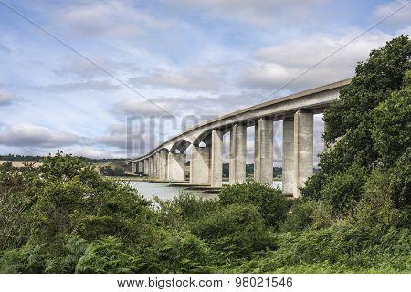 Orwell Bridge Suffolk