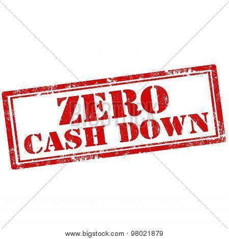 Zero Cash Down