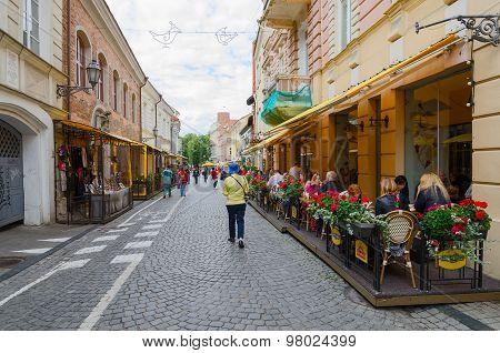 Vilnius, Old Town, Pilies Street