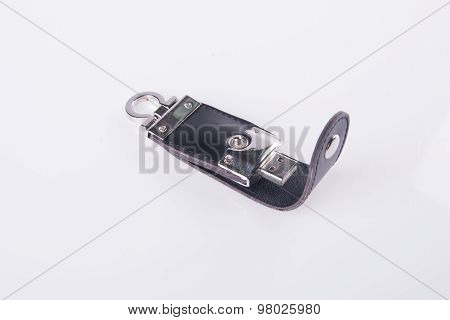 Usb Drive On A Background