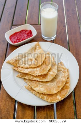 Cig Borek, Turkish Meat Pie