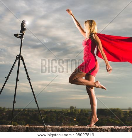 How to use a tripod and a flash in photography, work