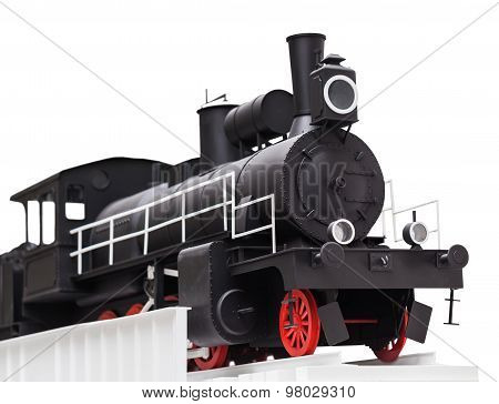 Black Vintage Toy Train