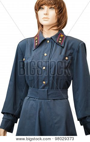 Old Railway Worker Uniforms