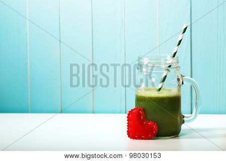 Green Vegetable Smoothie Made With Love