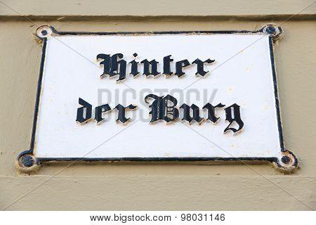 Lubeck Hinter Der Burg