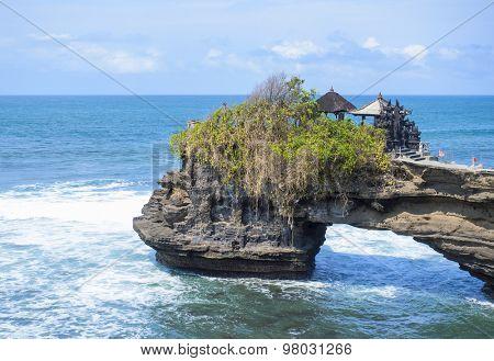 Tanah lot complex. Bali. Indonesia