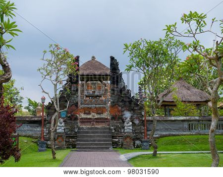royal temple of Mengwi Empire located in Mengwi, Badung regency that is famous places of interest in Bali.
