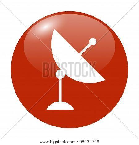 Vector Satellite Dish Icon