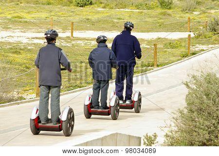 Omnidirectional Personal Transport