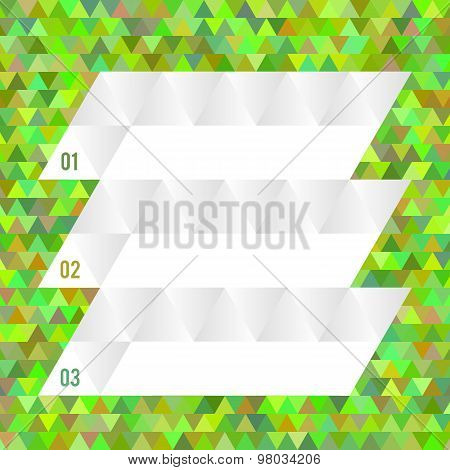 Layout Page Design Triangles Abstract Background
