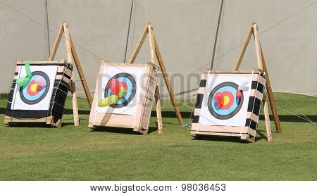 Archery Targets.