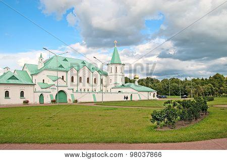 Tsarskoye Selo (Pushkin). Saint-Petersburg, Russia. The Martial Chamber